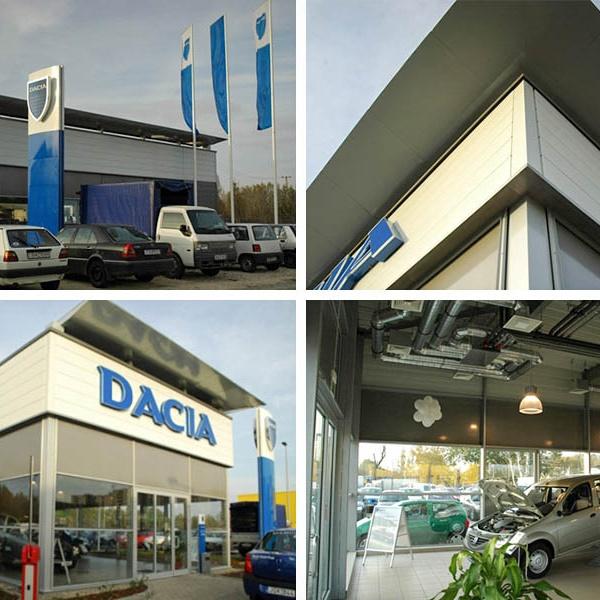 Dacia szalon