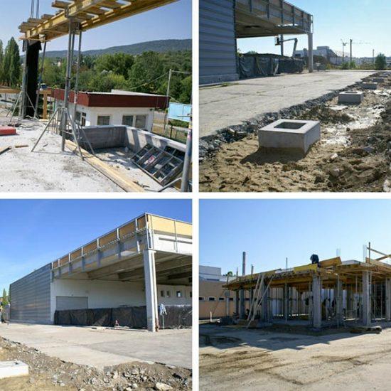 Marosport új Irodaépület és telephely