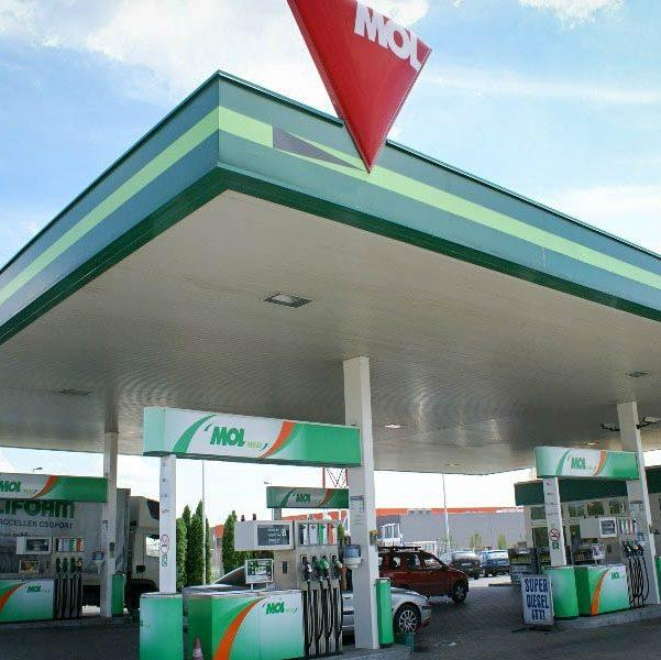 MOL üzemanyagtöltő állomások