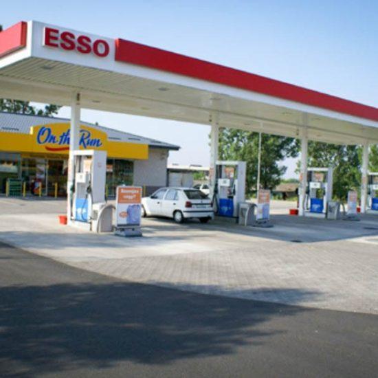 Esso üzemanyagtöltő állomások
