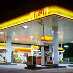 Shell üzemanyagtöltő állomás Szigetszentmiklós