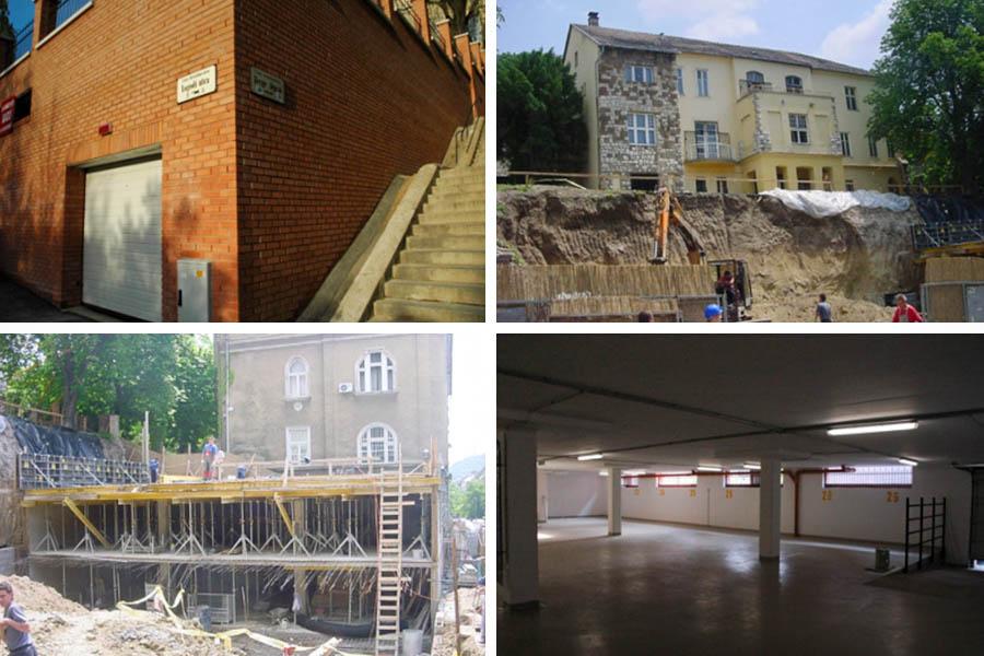 Mélygarázs építés Budapest