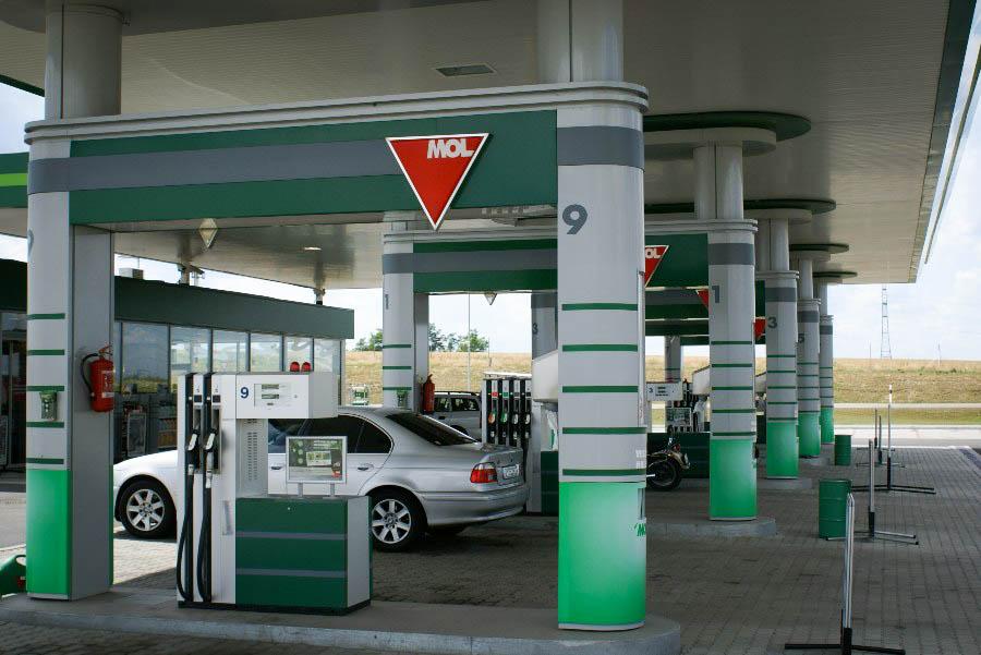 MOL üzemanyag töltő állomások