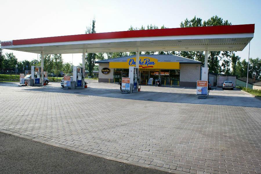 Esso üzemanyag töltő állomások