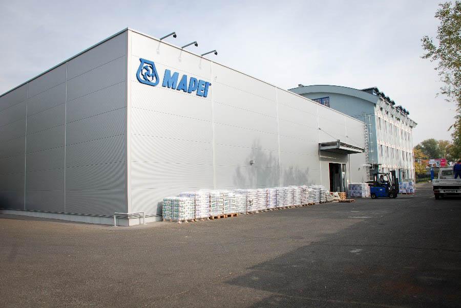 MAPEI Gyártóüzem - Bővítés