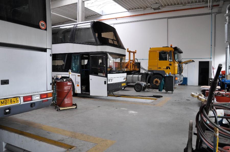 Nova - Busz Irodaház és javítóbázis