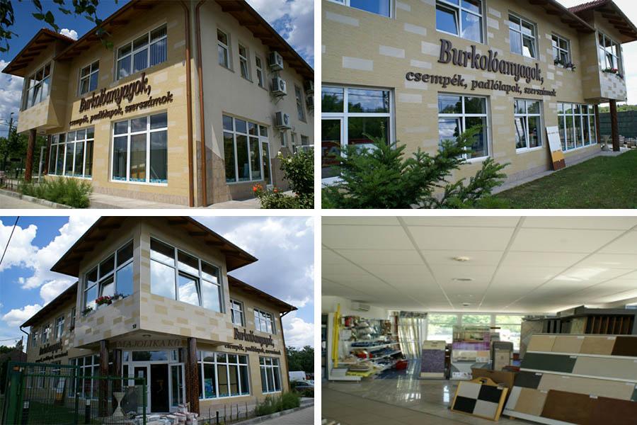 Majolika Kft. új iroda